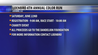 Community Connection: Loenbro 4th Annual Color Run and Obstacle Course