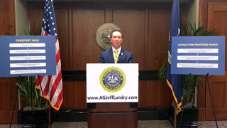 Jeff Landry Freeport announcement.PNG