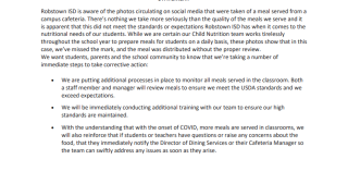 Robstown ISD food statement.png