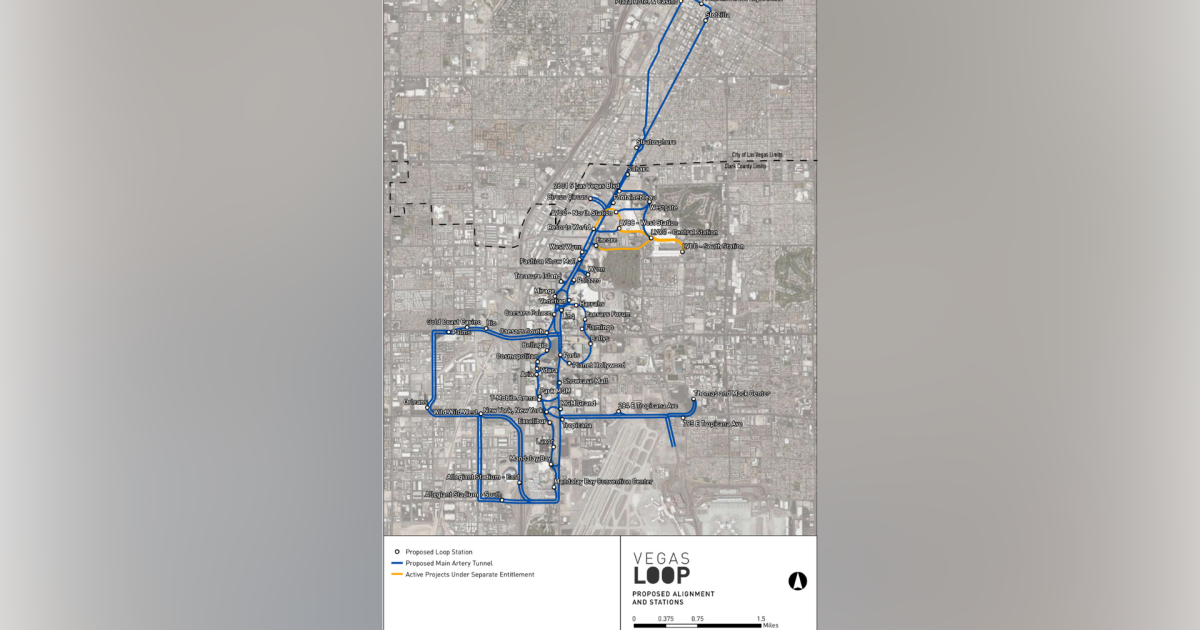 Clark County commissioners to discuss Vegas Loop project submitted by Elon Musk's The Boring Company