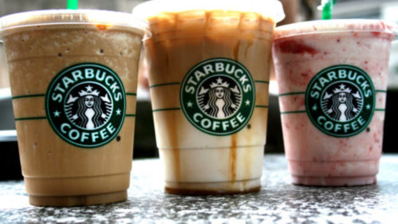 Starbucks is eliminating plastic straws from all stores