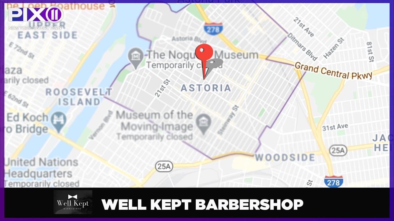 Well Kept Barbershop location
