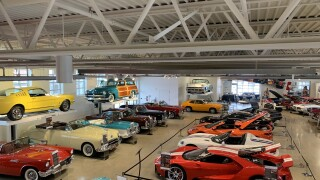 The Automobile gallery has more than 120 impressive vehicles spanning 113 years and it's often described as one of the top automobile museums in the United States.
