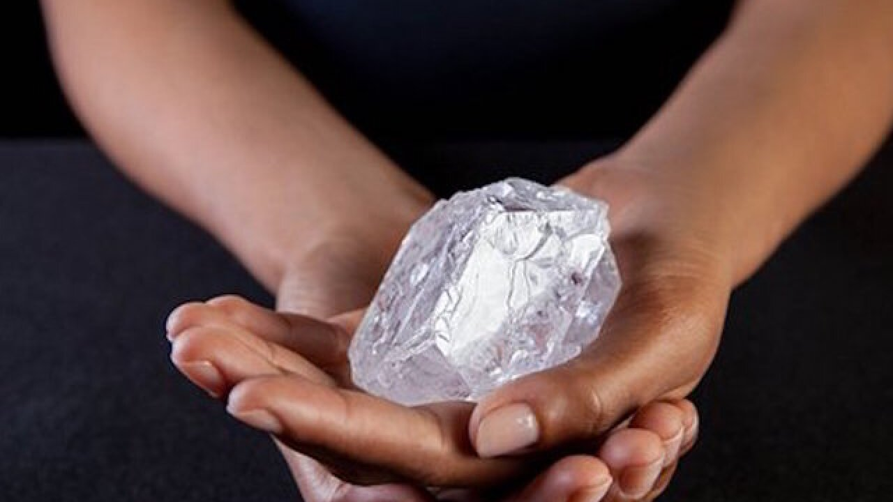 Giant diamond could fetch $70 million
