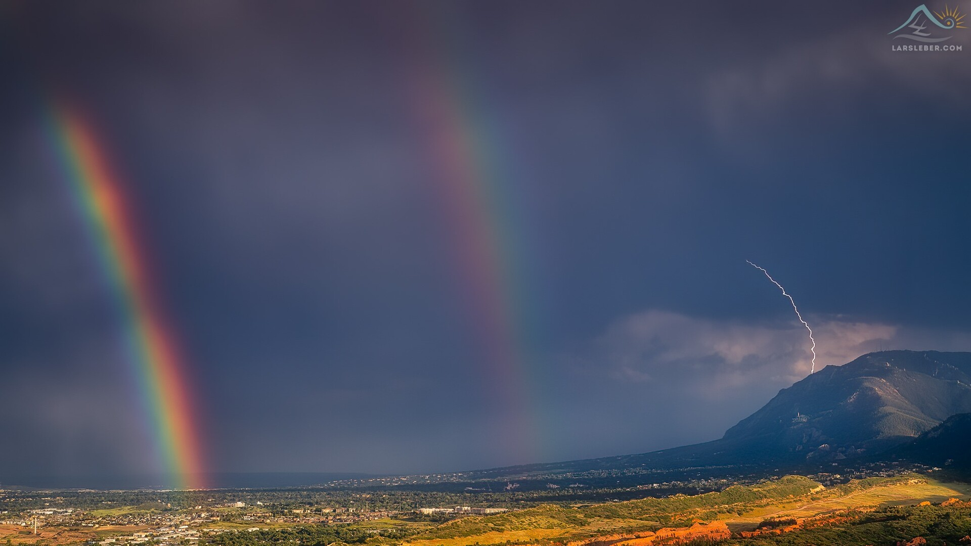 Colorado Springs Double Rainbow Lars Leber Photography.jpg
