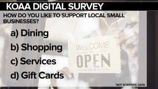 KOAA Survey: How do you like to support local small businesses?