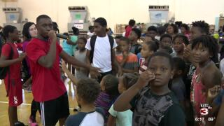 Boys and Girls Club Celebrity Basketball game