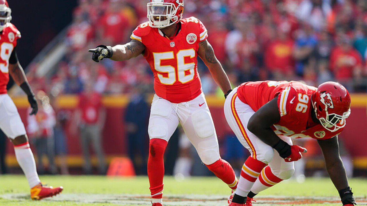 Chiefs defensive rebuild evident in Derrick Johnson's absence
