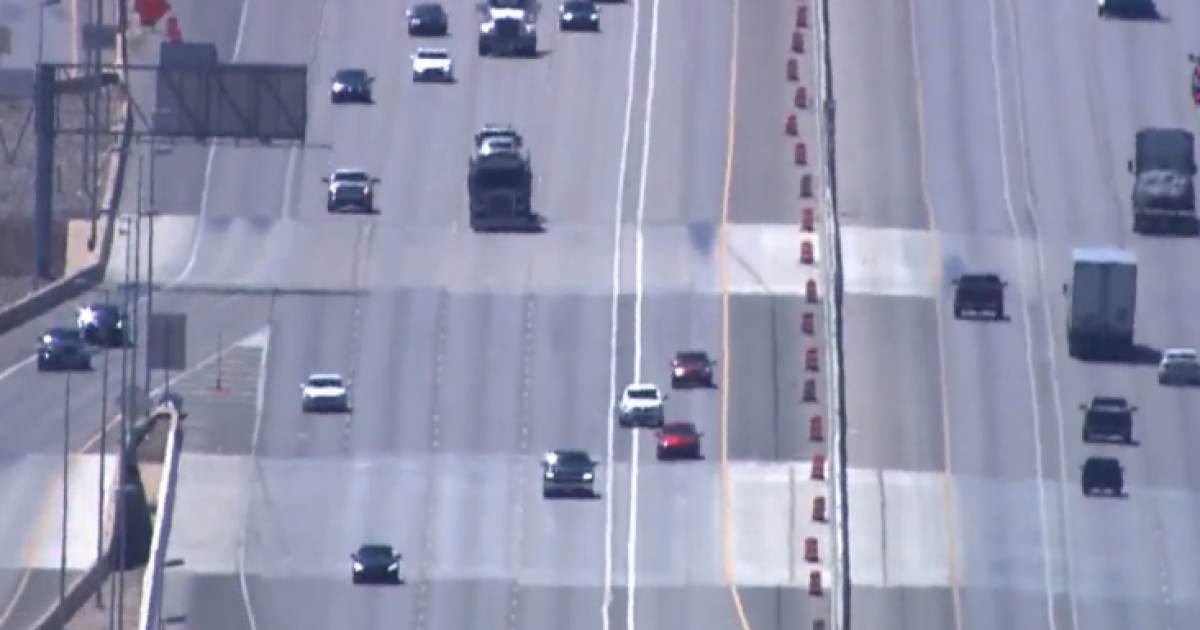 Hov Lanes Set To Open In Las Vegas Highway Patrol Monitoring Drivers