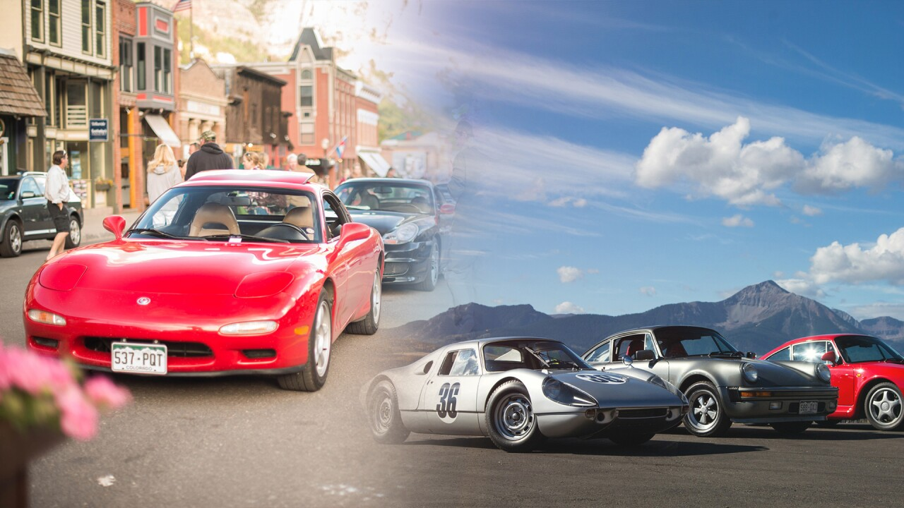 Telluride Cars and Colors Festival