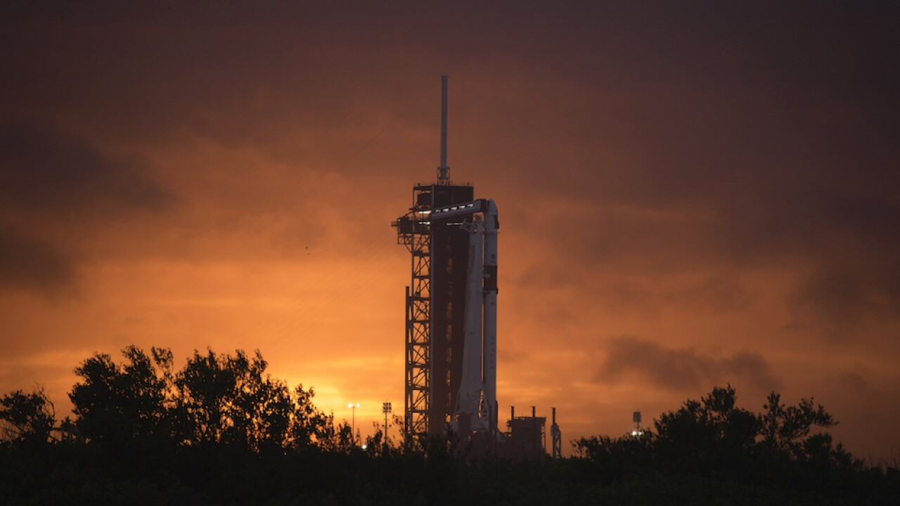 First astronaut launch since 2011 still a go despite weather concerns