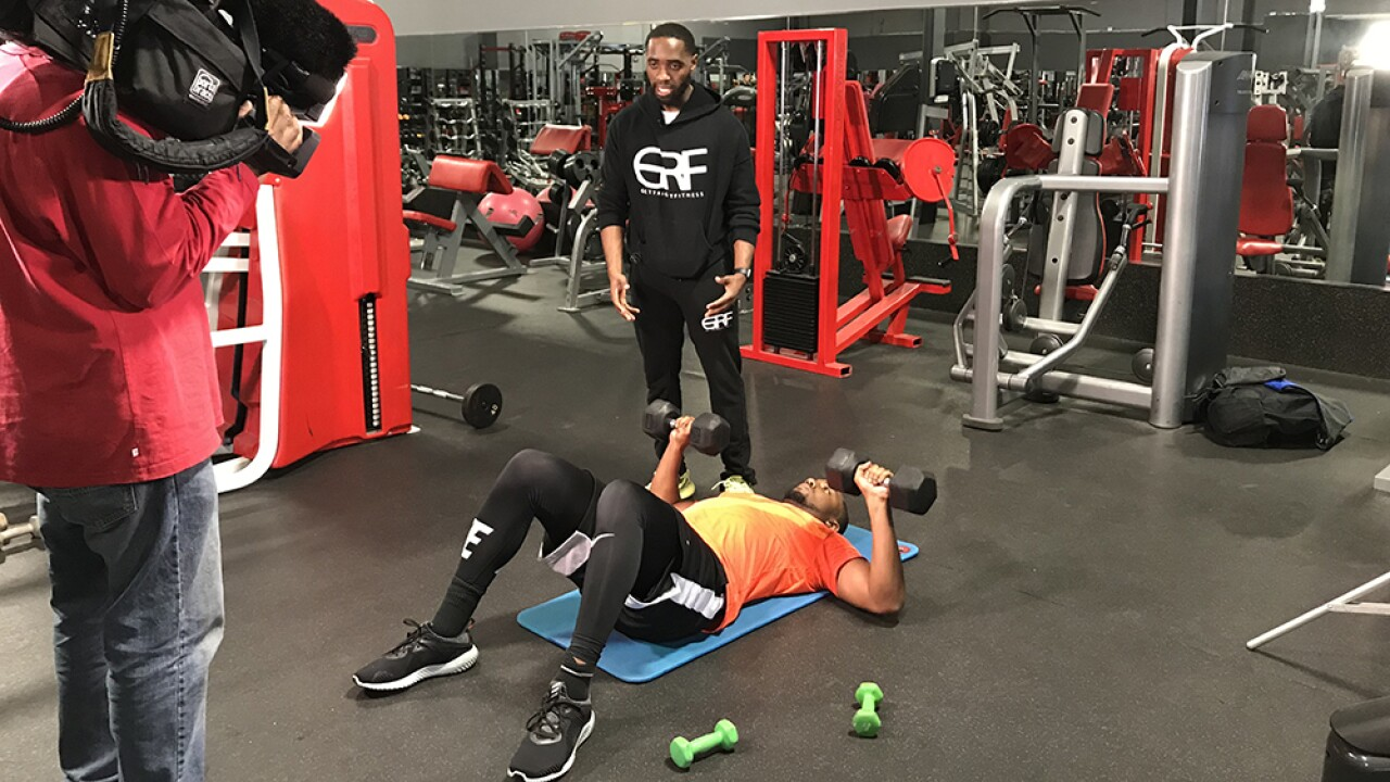 Men's Heath: Get a fitness routine started with Gett Right