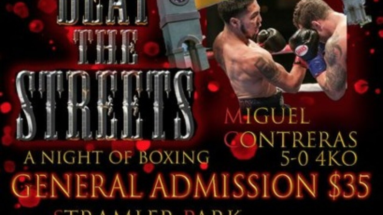 'Beat the Streets' takes place on Saturday to benefit Kern County Fight Club