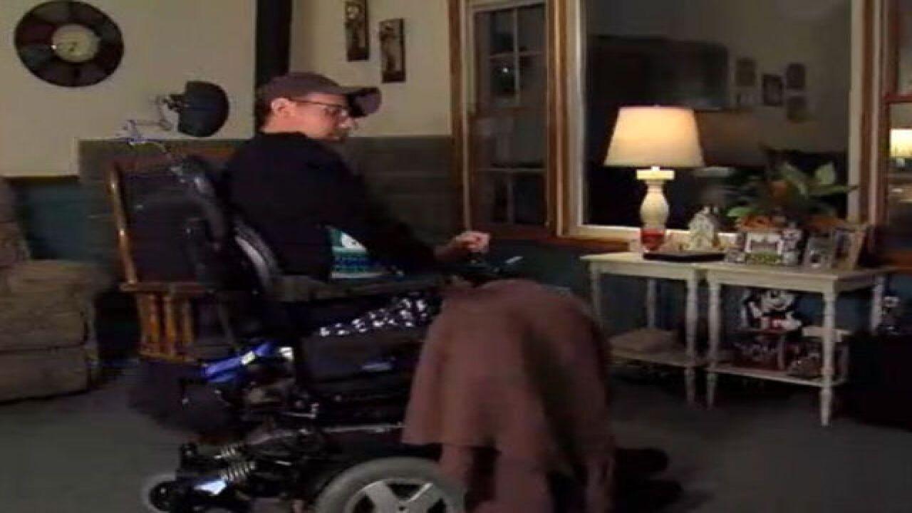 Van belonging to handicapped man stolen