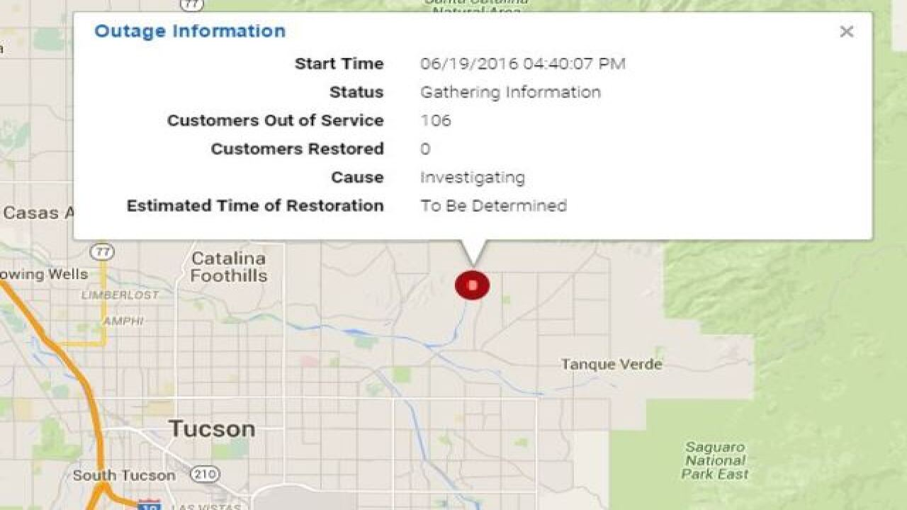 More Than 1000 Tep Customers Without Power 3000 Plus In Green Valley