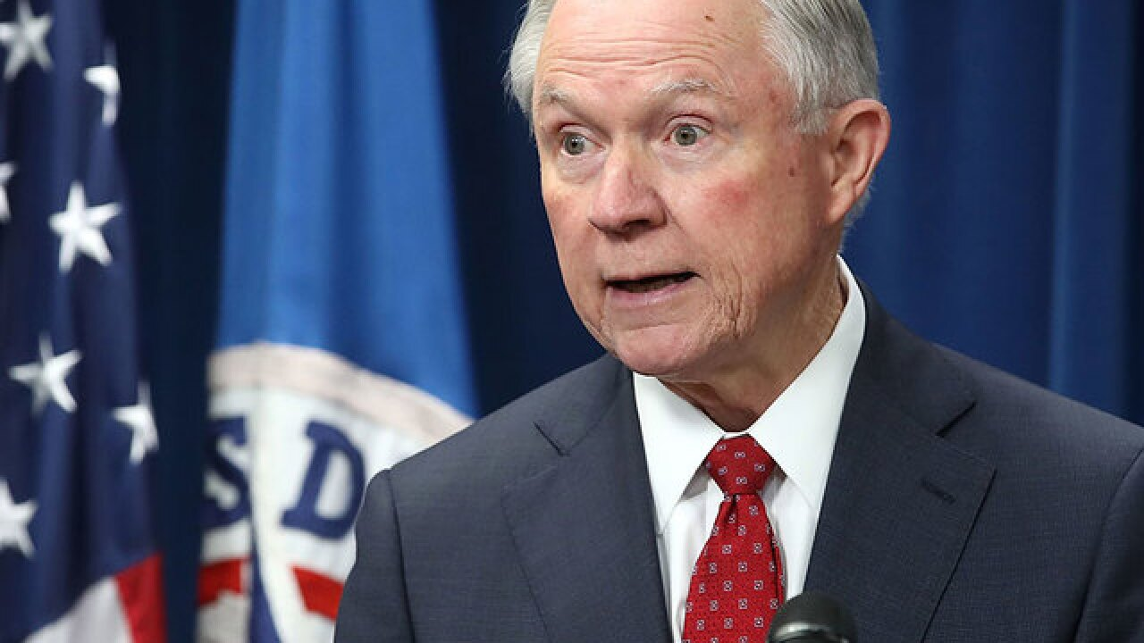 AG Sessions: Idea medical pot can remedy opioid addiction is 'stupid' and 'hyped'
