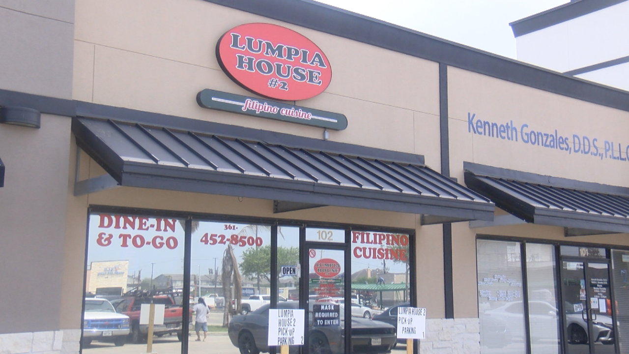 Lumpia House #2 located at 7426 S. Staples St. #102 in the La Encantada center.