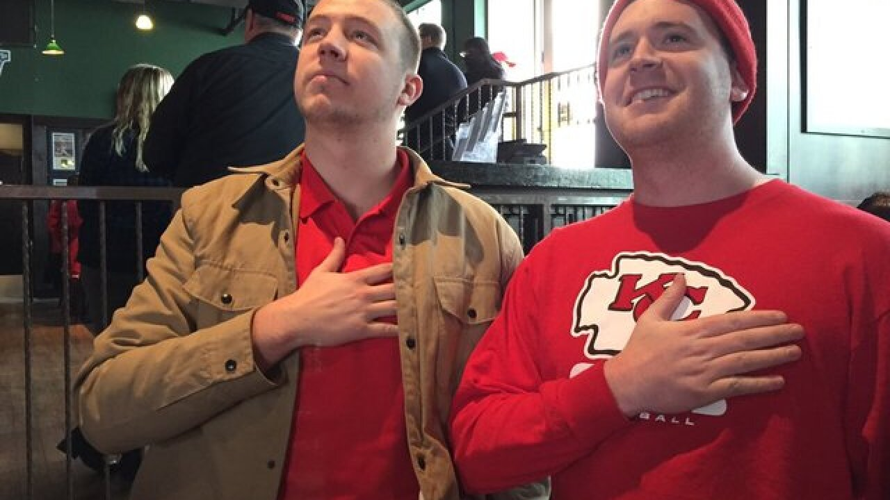 PHOTOS: Fans get ready for Chiefs Wild Card game