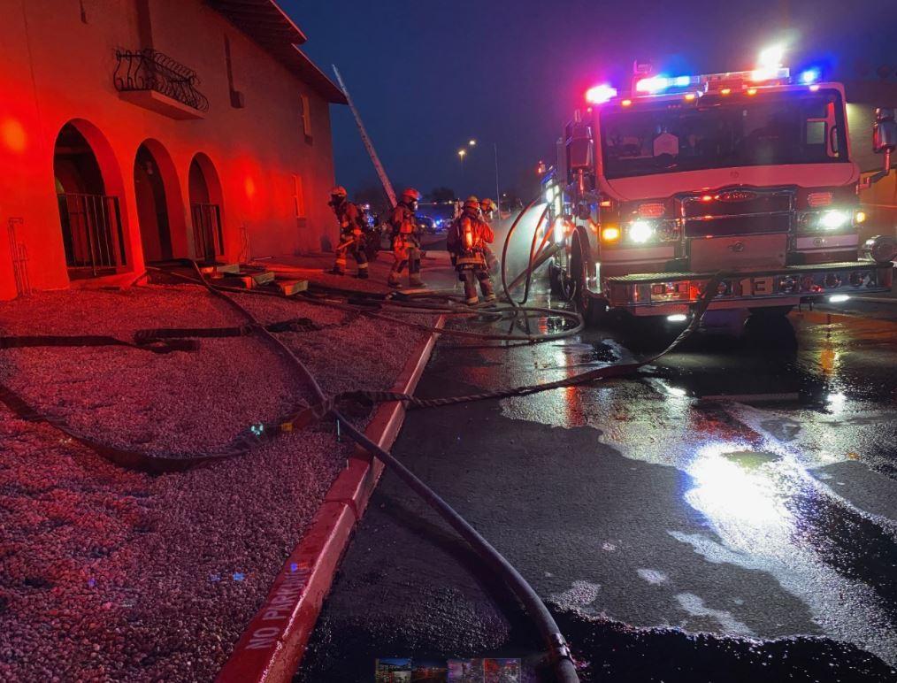 First-alarm Phoenix apartment fire