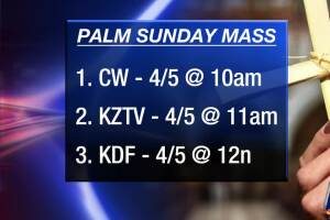 Catholic Church Easter mass televised