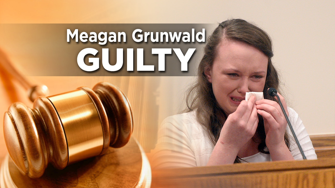 Jury finds Meagan Grunwald guilty of aggravated murder, othercharges
