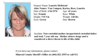 Amber Alert issued for Western Montana boy