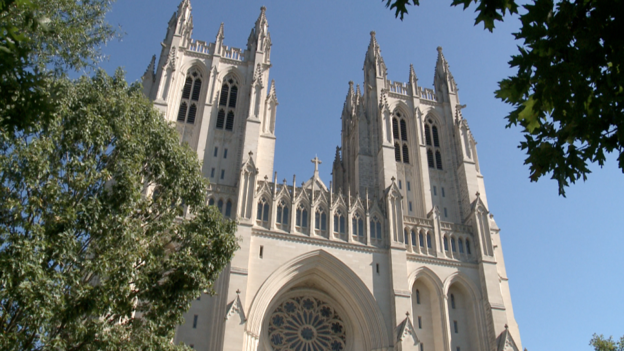 Landmark luck? Washington Nationals receive support from National Cathedral