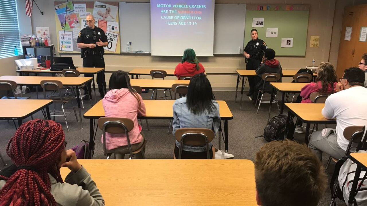 OPD project night life presentation westside students