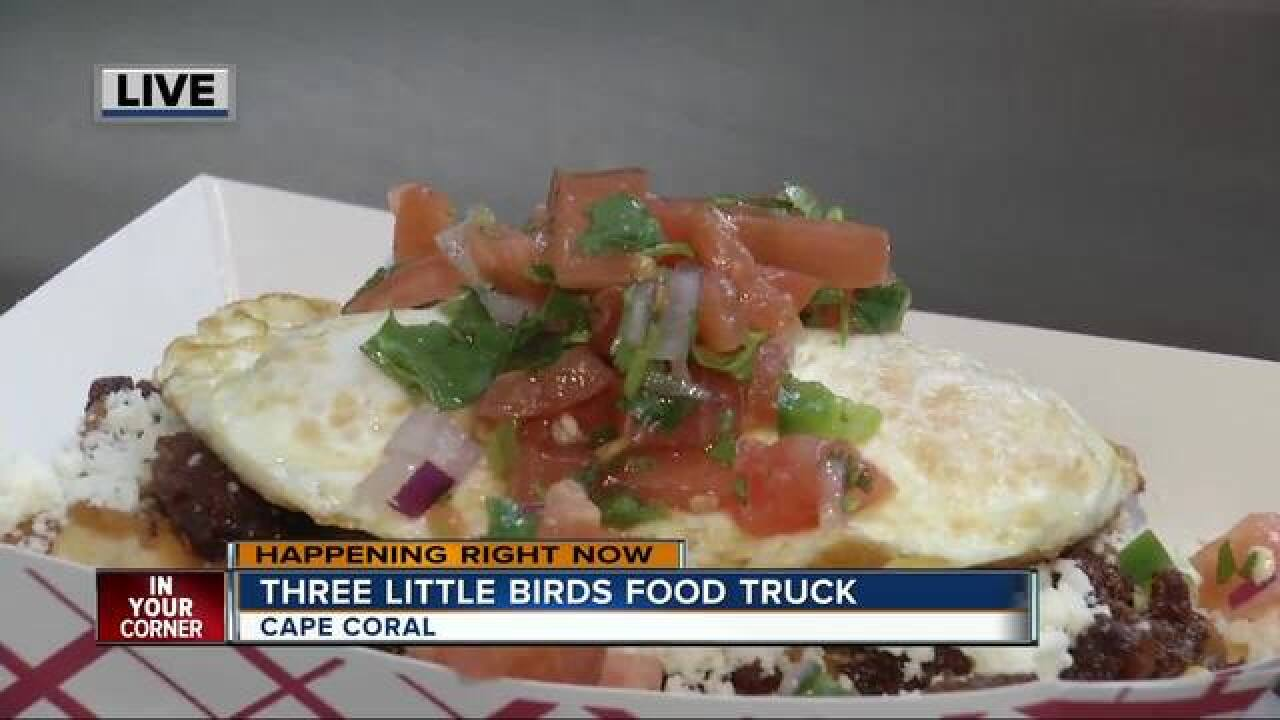 Three Little Birds breakfast food truck