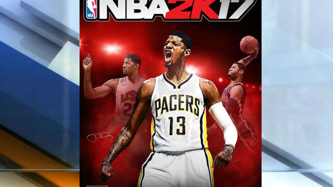 cheap sale exquisite design reliable quality NBA 2K17 cover to feature Pacers' Paul George