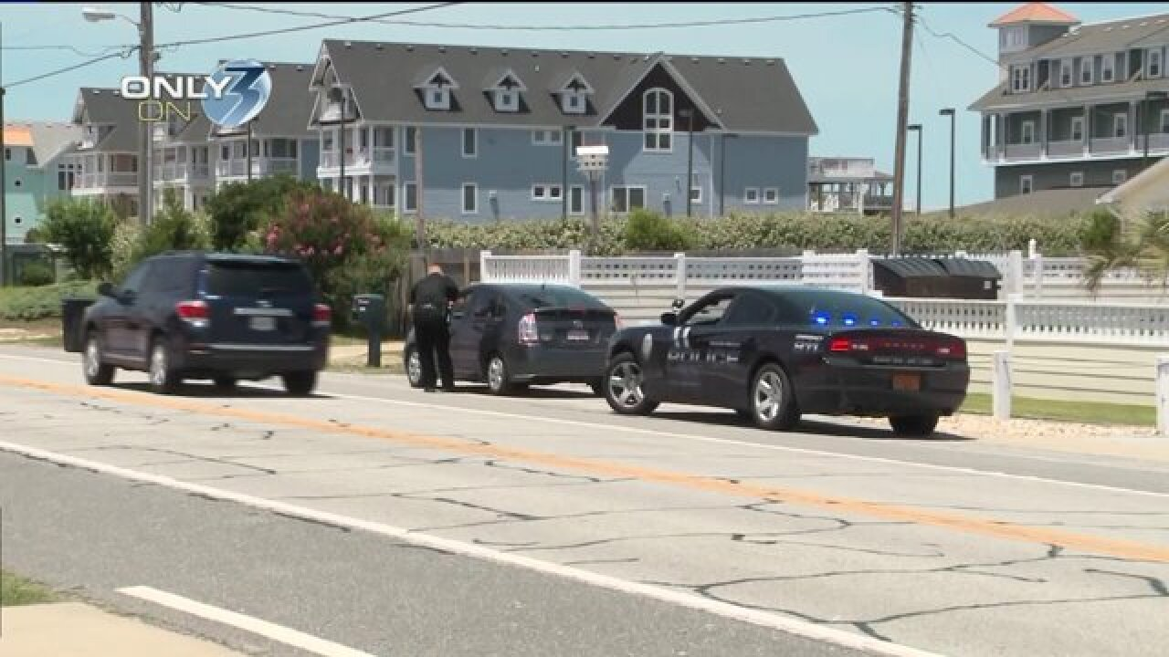 Dozens of drivers pulled over in the Outer Banks for violating pedestrian law