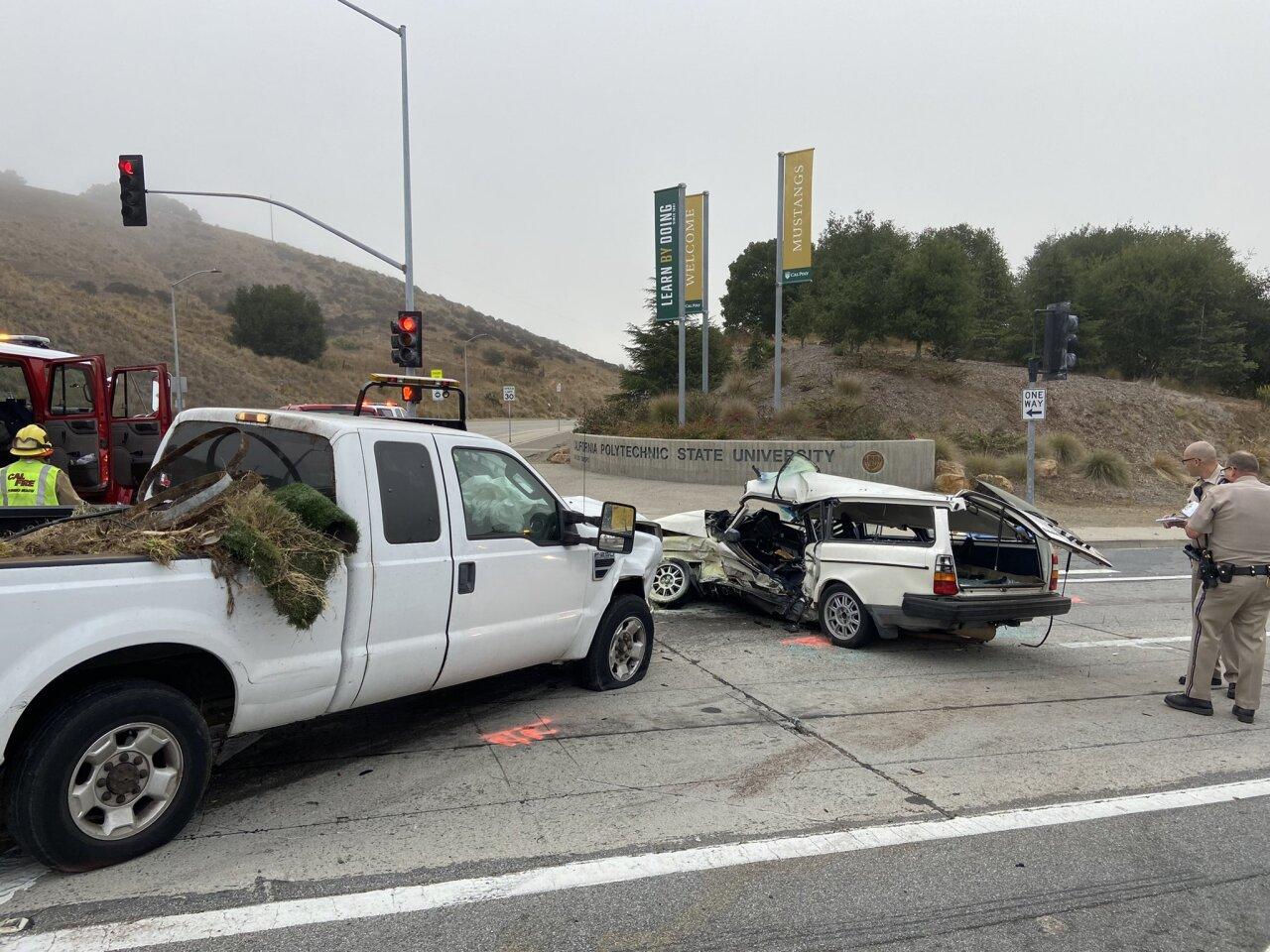 Teenager dies in car crash near Cal Poly