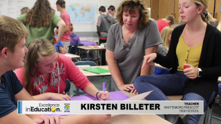 Excellence in Education – Kirsten Billeter