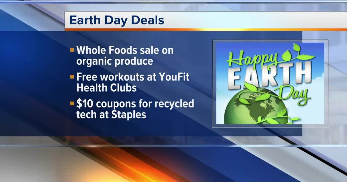 Businesses celebrate Earth Day with deals, discounts