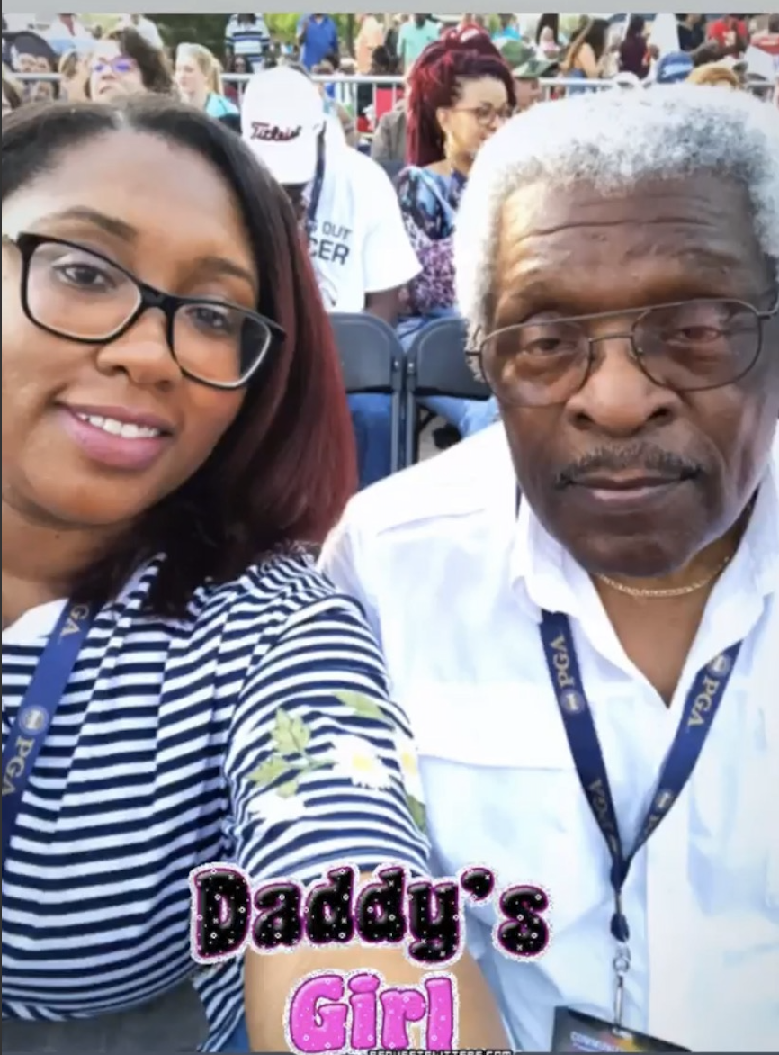 Katrina Price and her father