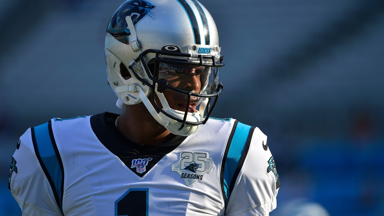 Panthers QB Cam Newton placed on Injured Reserve, ending his 2019 season