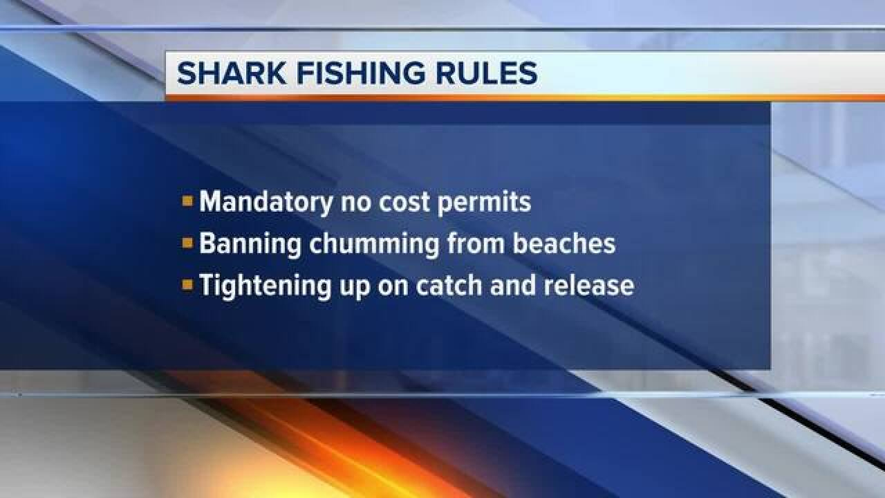 Modifying statewide shark regulations