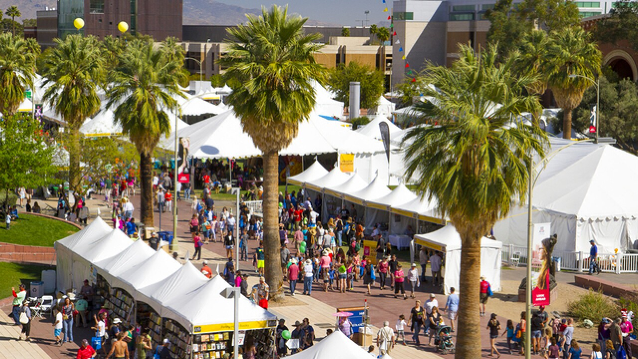 Festival Of Books 2020.Tucson Festival Of Books Returns This Weekend