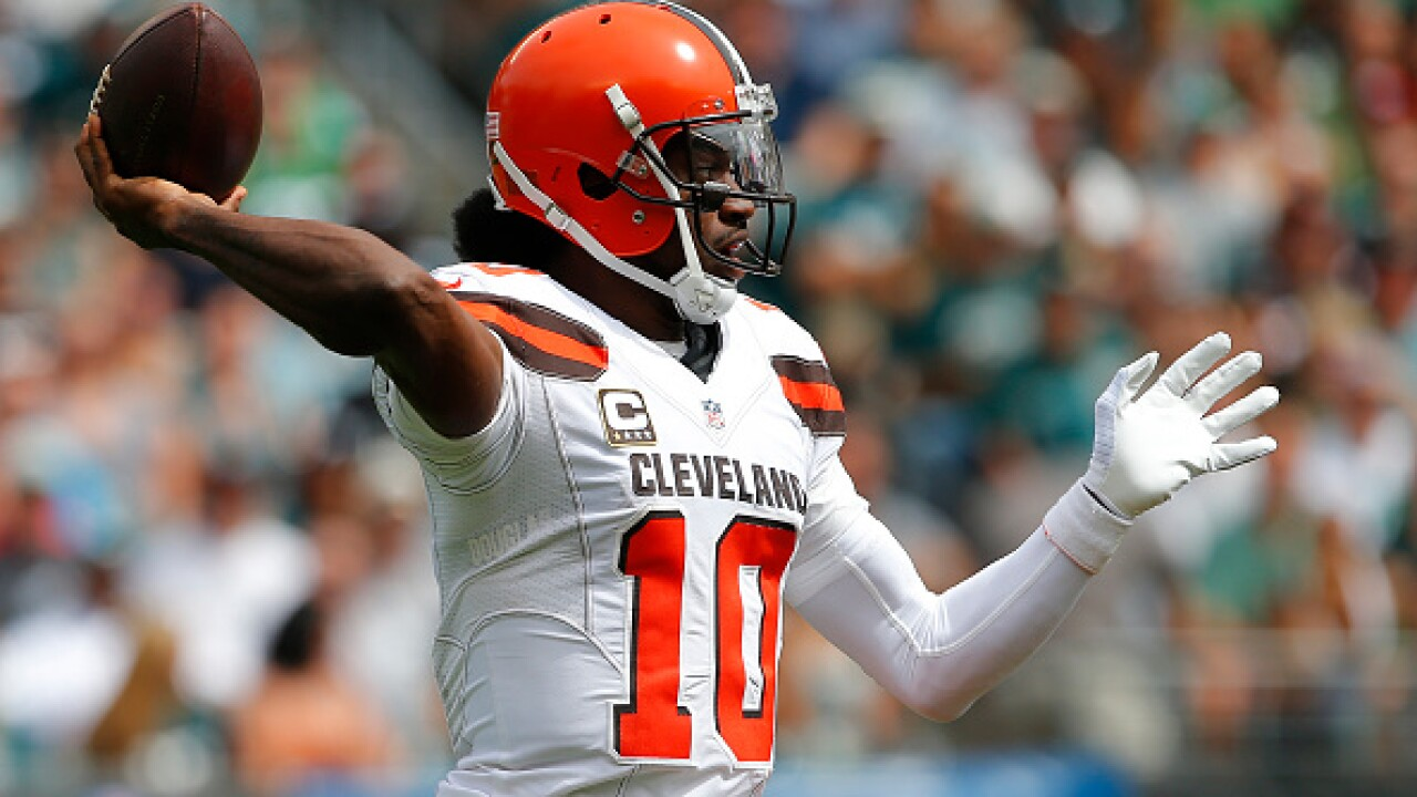 Robert Griffin lll placed on injured reserve following shoulderinjury