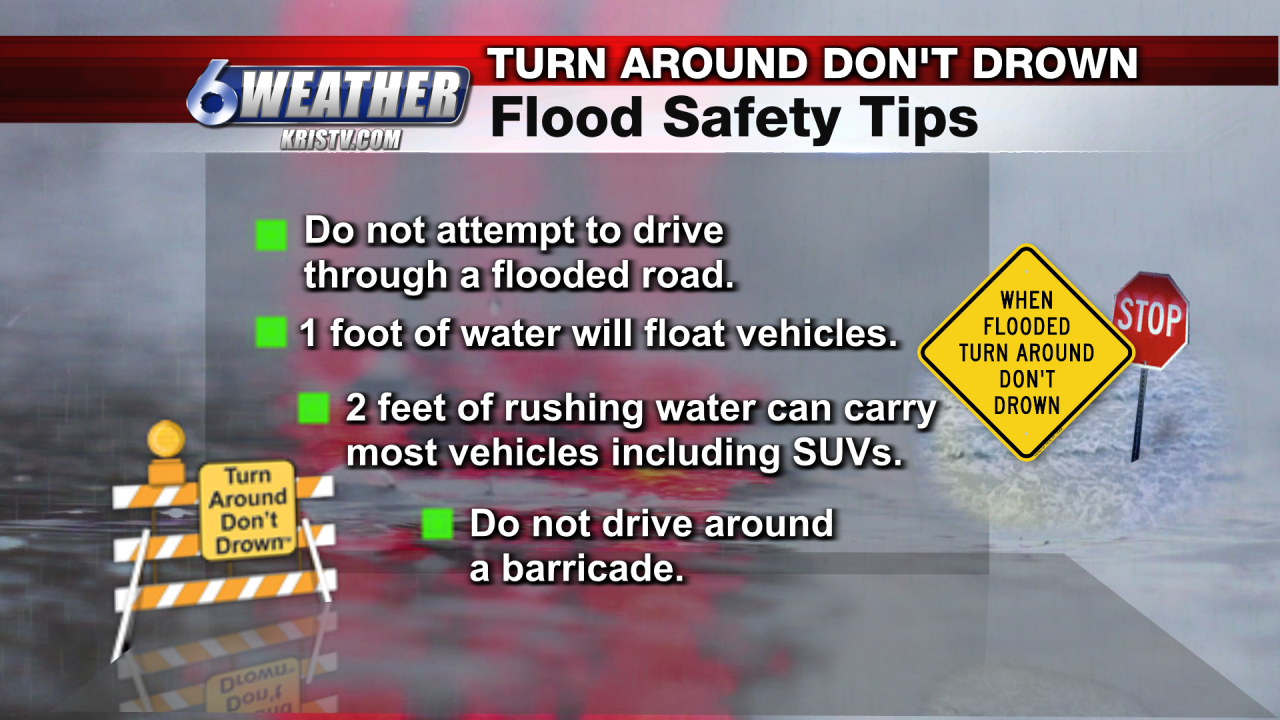 6WEATHER Flood Safety Tips