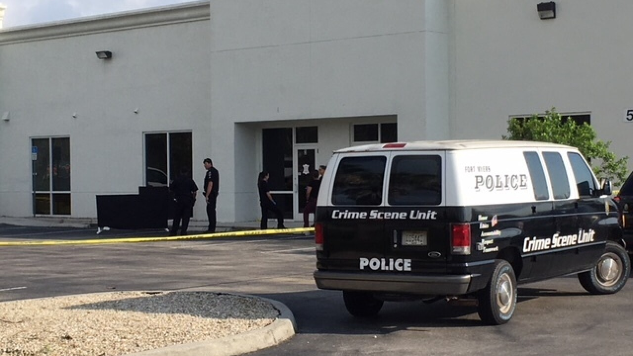 Crime investigation at Fort Myers business