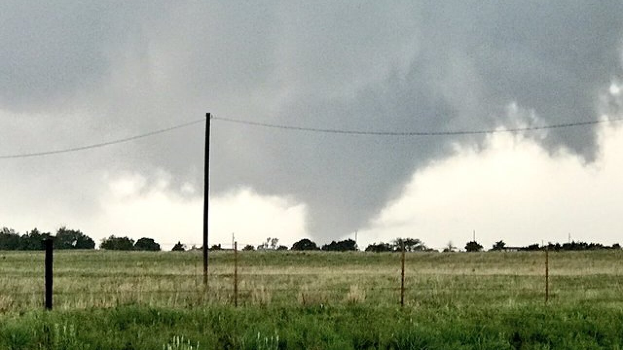 No, a tornado did not carry home nearly 130 miles