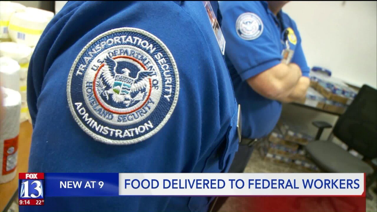 Utah communities band together to help TSA employees struggling to make it during government shutdown