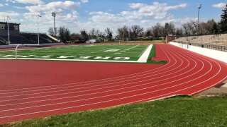New track at Memorial Stadium in Great Falls near completion