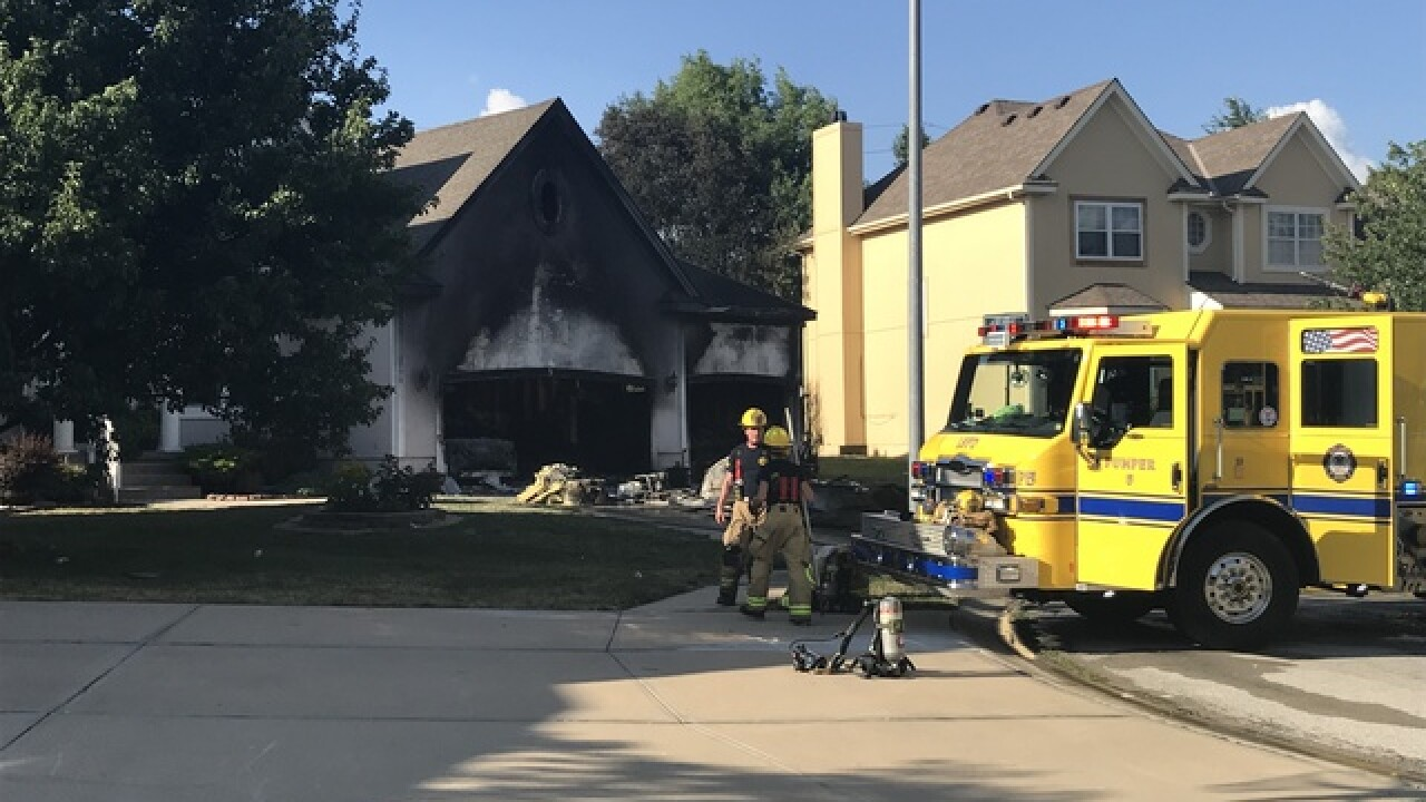 Lee's Summit home destroyed in July 4th fire