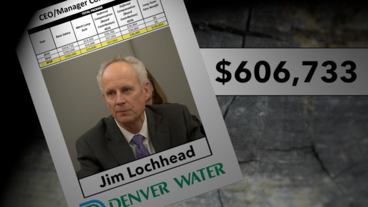 Denver Water employees surprised by CEO's bonus
