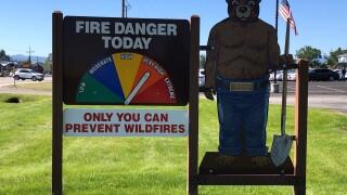 Bitterroot NF Very High Fire Danger