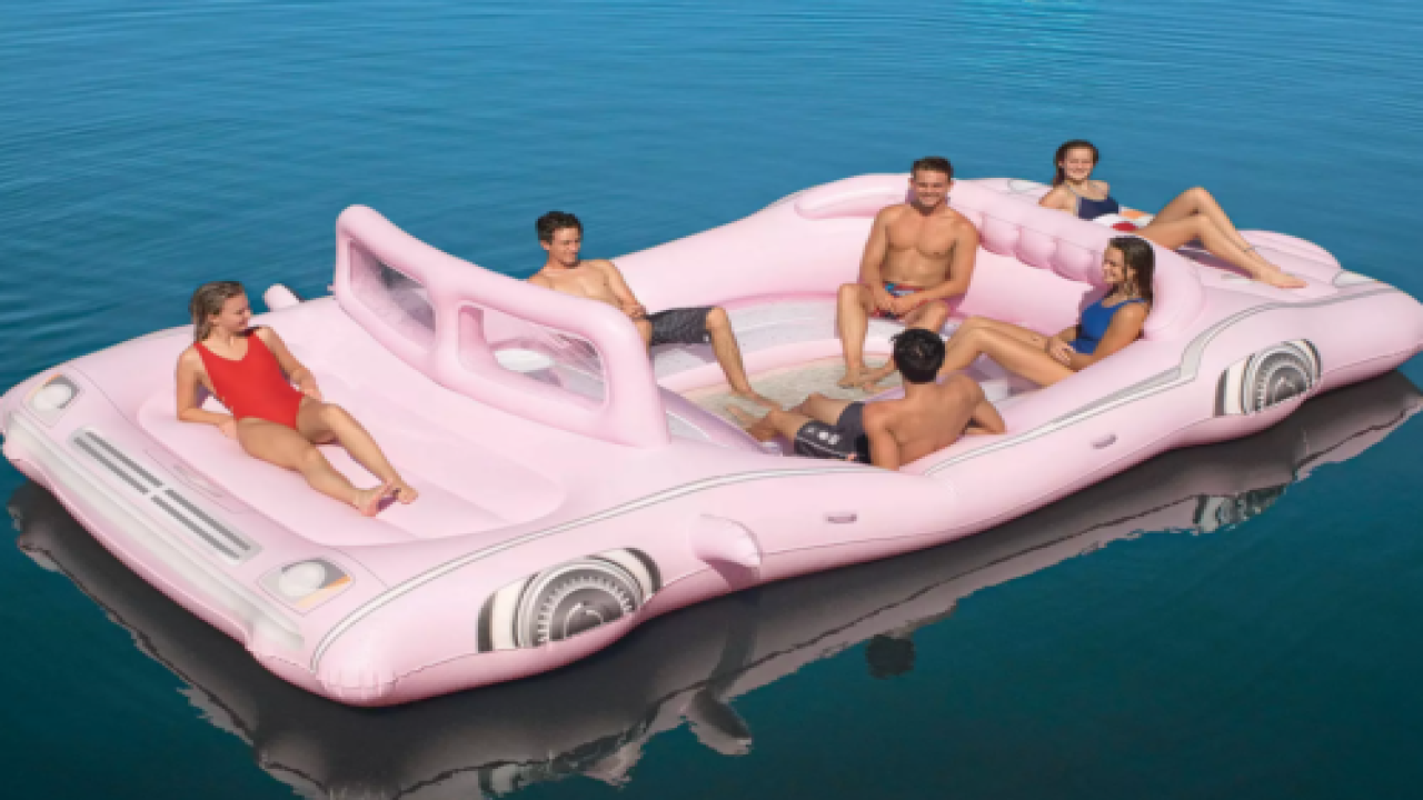 Buy A Huge Retro Pink Limo Float At Sam's Club