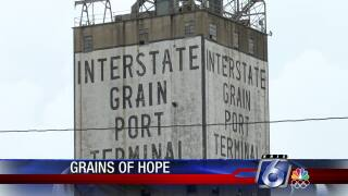 The old Interstate Grain Terminal could be operational again