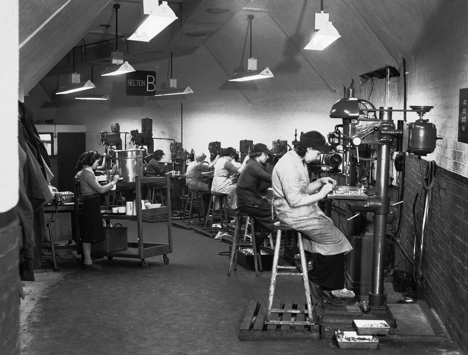 WWII England Underground Aircraft Production